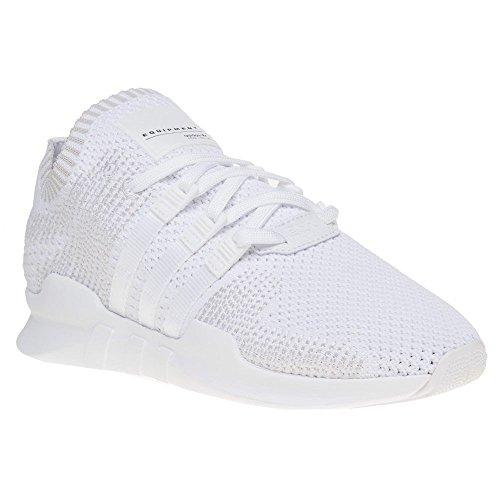 galeone adidas originali degli uomini eqt appoggio avanzata delle scarpe bianche