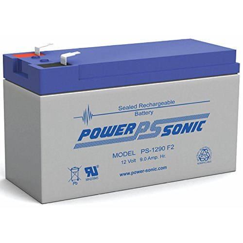 Power-Sonic ps-1290F2| SLA Batería de 12V 9Ah