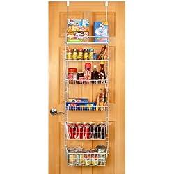 Pro-Mart DAZZ Deluxe Over-the-Door Pantry Organizer, Large