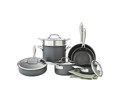 Cuisinart Dishwasher Safe Hard-Anodized 11-pc. Cookware Set