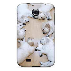 Welchmoibe1999 Galaxy S4 Well-designed Hard Cases Covers Six Cute Puppies Protector