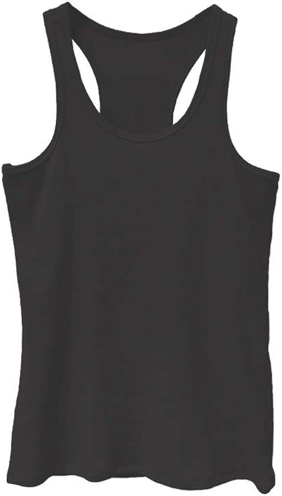Tex Leaves Camiseta Tirante de algod/ón canal/é para Mujer con Espalda Ol/ímpica Tejido Algod/ón Transpirable y Suave