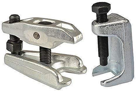 2 Tlg Kugelgelenk Abzieher I Spurstangenkopf Ausdrücker I Traggelenk Werkzeug I Universal Für Viele Autohersteller Baumarkt