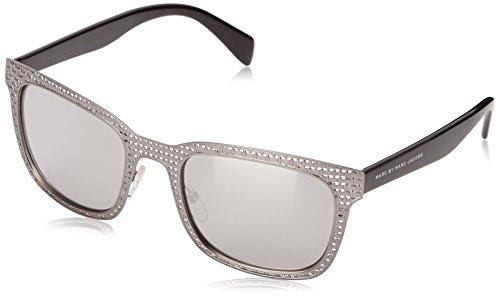 Marc by Marc Jacobs MMJ436S 0TRH Wayfarer Sunglasses, Ruthenium Black, 54 - Glasses Marc Jacobs Womens