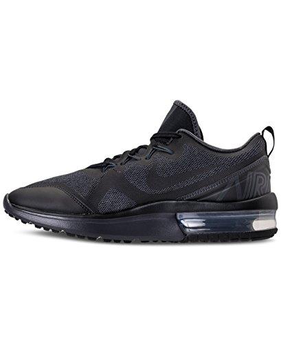 Nike Mens Air Max Fury Löparskor Svart / Antracit / Svart 002