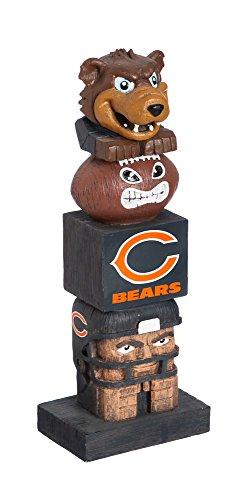 Team Sports America NFL Chicago Bears Tiki Totem (Nfl Bears Chicago)