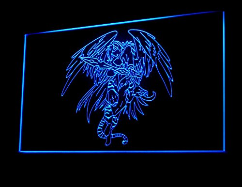 Devil Angel Wings Tattoo Design Led Light Sign