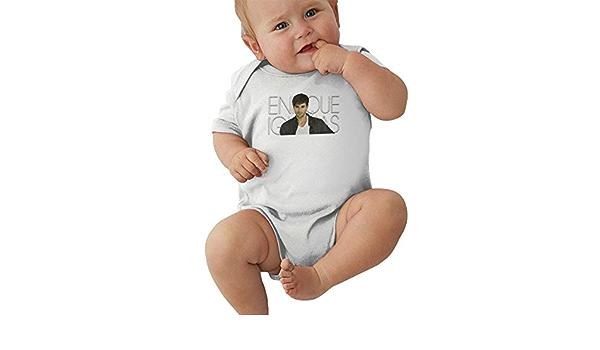 YBRB Enrique Iglesias Baby Body Camiseta de algodón de Manga ...