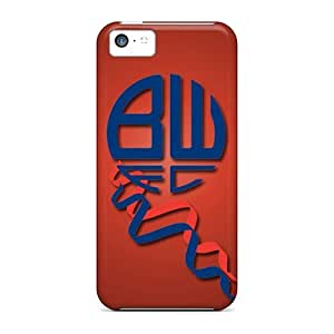 Hot RqCsmtk6564gzoFb Bolton Wanderers Fc Case Cover Compatible With Iphone 5c