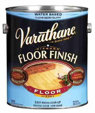 Varathane 230131 1 Gallon Varathane Crystal Clear Floor Finish Semi-Gloss ()
