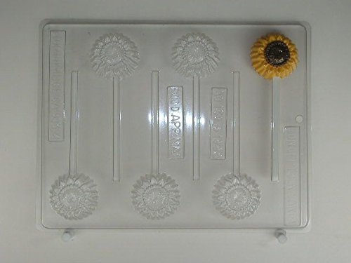 (Small Sunflower AO139 All Occasion Chocolate Candy Mold)