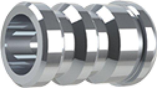 Gold Tip GTO Nock Triple X Accu Bushing (12-Pack), Silver - Gold Tip Triple X