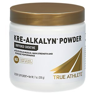 True Athlete Kre Alkalyn Helps Build Muscle, Gain Strength Increase Performance, Buffered Creatine NSF Certified for Sport 7.05 Ounces Powder