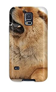 Hot New Fashion Premium Tpu Case Cover For Galaxy S5 - Chow Chow Dog 1708609K86436364