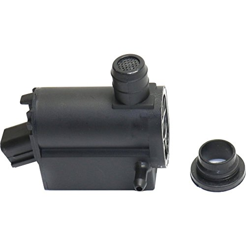 Windshield Washer Pump compatible with HYUNDAI SANTA FE 01-12 / ACCENT 07-17 (Hyundai Santa Fe Windshield Washer Pump Replacement)