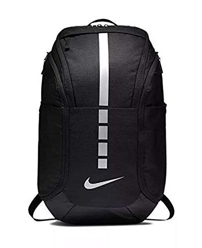 (Nike Hoops Elite Pro Backpack BLACK/BLACK/MTLC COOL GREY)