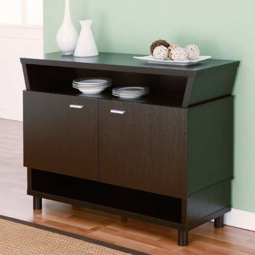 247SHOPATHOME Idi-13664 Sideboards, Cappuccino