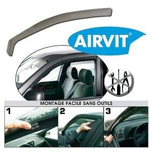 Airvit 203019 Winddeflektor Airstream (Pack of 2) by Airvit (Image #1)