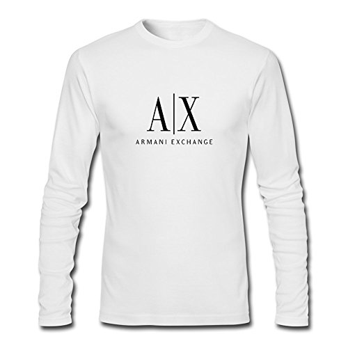 armani exchange long sleeve t shirt