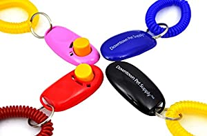 1. Downtown Pet Supply Big Button Dog Cat Training Clicker