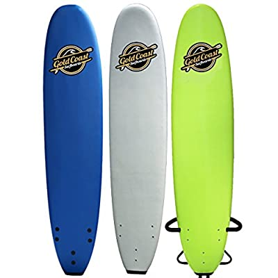8'8 Soft-Top Longboard Surfboard - The Heritage - High Performance Foam Surfboard, Leash, and Fins Included - The Best Longboard Foam Surfboard for all levels of surfing by Gold Coast Surfboards
