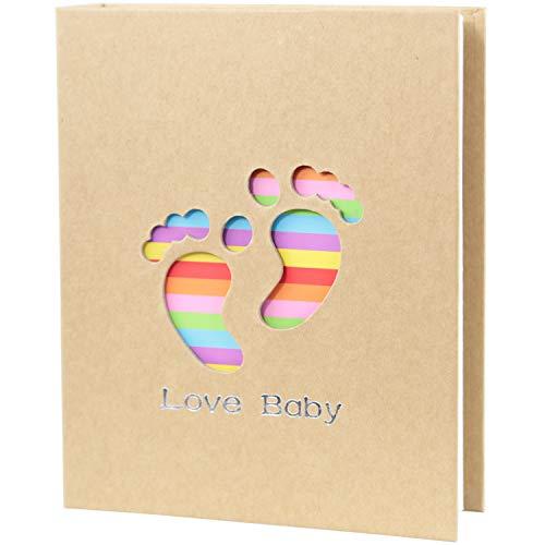 Amazon.com: WLC Álbum de fotos para bebé, 3.9 x 5.9 in, 100 ...