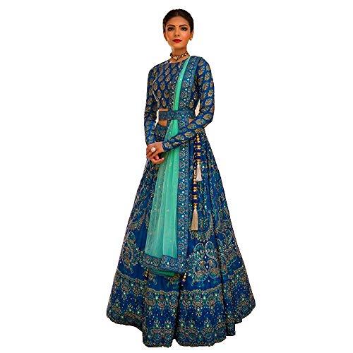 lehenga choli for women Bollywood designer wedding lengha sari trendy culture 0095