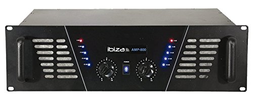 Ibiza AMP800 Préampli Noir Lotronic BD-Ibiza800 Préamplis