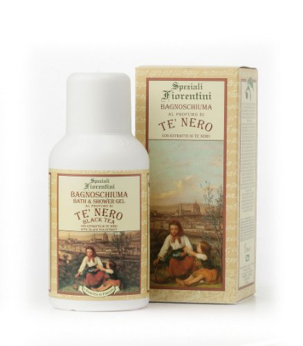 Speziali Fiorentini Bath/Shower Gel, Black Tea, 8.4 Ounce