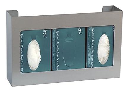 OMNIMED 305303 - 1 Triple soporte para caja de guantes/dispensador: Amazon.es: Amazon.es