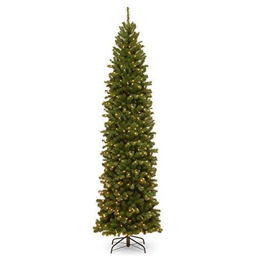 (National Tree 9 Foot North Valley Spruce Pencil Slim Tree)