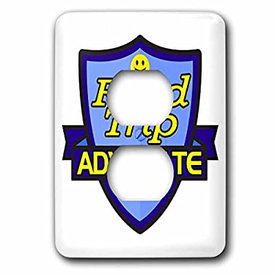 Dooni Designs – Funny Sarcastic Advocate Designs - Road Trip Advocate Support Design - Light Switch Covers - 2 plug outlet cover (lsp_242782_6)