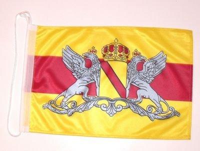 Bootsflagge Großherzogtum Baden Flagge Fahne 25 x 40 cm FLAGGENMAE® Bootsfahne