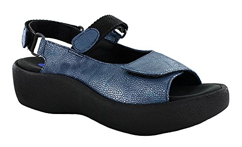 Caviar Jewel Leather Ocean Wolky Sandals Leather Womens gxXBaX