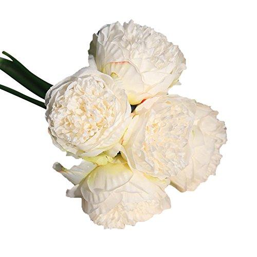 Amazon.com: Ouniman - Ramo de flores artificiales de seda ...
