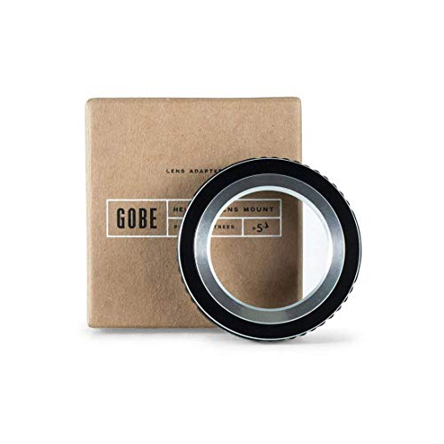 (Gobe Lens Adapter: Compatible with M39-mount Lens and Sony E-Mount Camera)