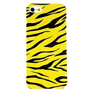 TY- Leopard Patrón de plástico duro caso para iPhone 4/4S