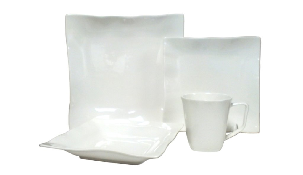 Vanilla Wave 16-Piece Dinnerware Set