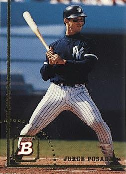 1994 Bowman Baseball #38 Jorge Posada Rookie Card