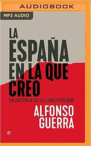 La España En La Que Creo Narración En Castellano : En Defensa de ...