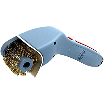 Chef buddy cordless motorized outdoor grill for Motorized grill brush with steam cleaning power