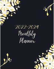 2022-2024 Monthly Planner: 3 year calendar planner 2022-2024, 36 Months Yearly Planner Monthly Calendar & Weekly Large Schedule Organizer, (Size: 8.5x11)