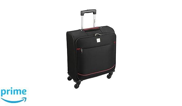 488c6e009 Skyflite - Maleta de equipaje de mano con 4 ruedas, maleta aceptada como  equipaje de mano en British Airways, 56 x 45 x 25 cm negro negro Small - 56  x 45 ...