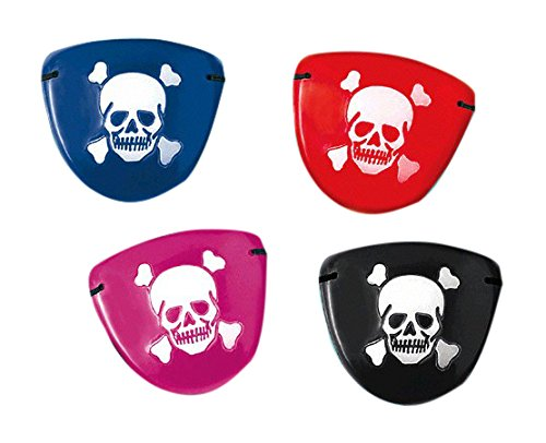 Amscan Fun-filled, Pirate Eye Patches, Party Supplies, Assorted, 2 1/2