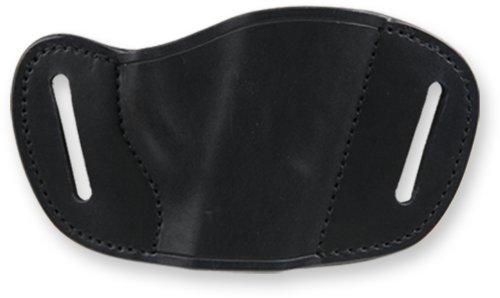 Bulldog Black Molded Leather