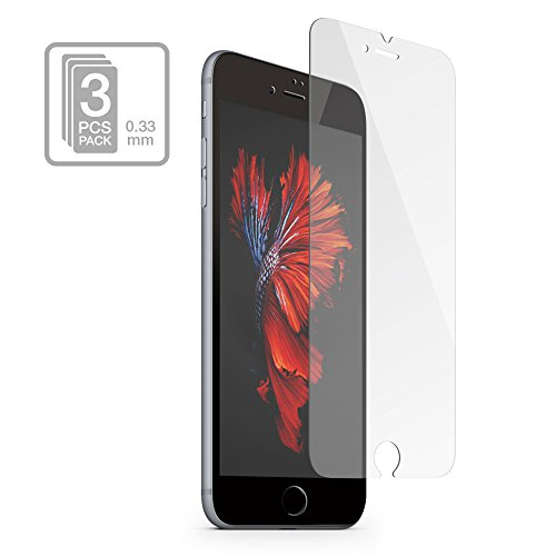 multifun Tempered Glass Screen Protector for Apple iPhone...