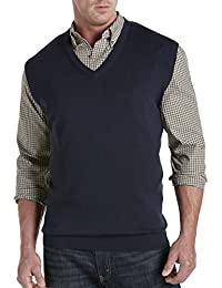 by DXL Big and Tall V-Neck Sweater Vest