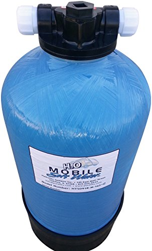 Portable 16 000 Grain Mobile Soft Water Tm Unit With Tank