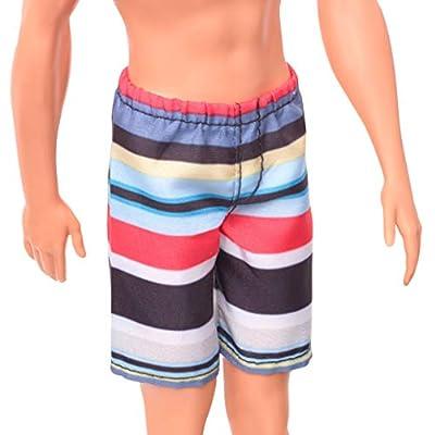 Barbie Ken Beach Doll: Toys & Games