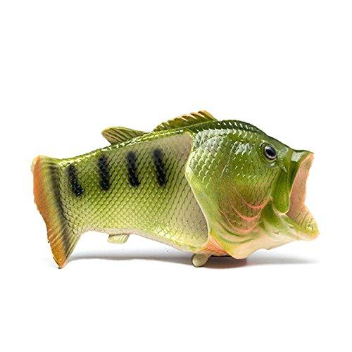 TININNA Unisex Lustige Hausschuhe Anti Skid Fisch Muster Hausschuhe für den Strand Bad Flip Flops Schuhe für Kinder Erwachsene